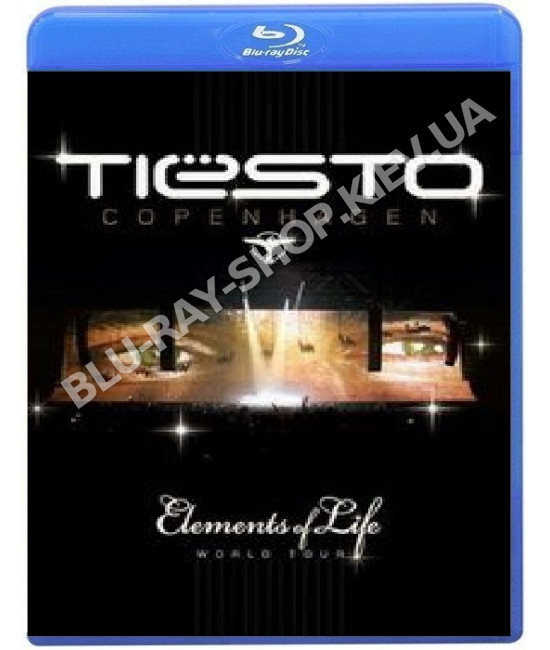 DJ Tiesto - Elements of Life World Tour [2 Blu-Ray]