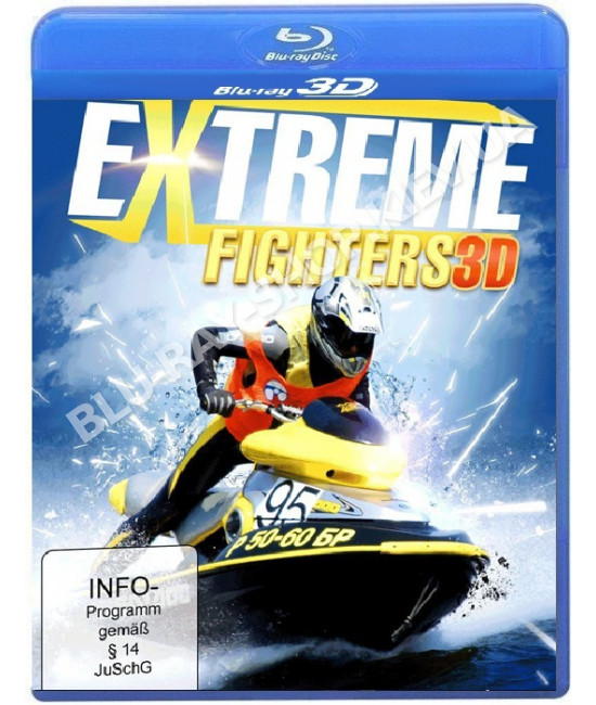 Extreme Fighters [3D/2D Blu-Ray]