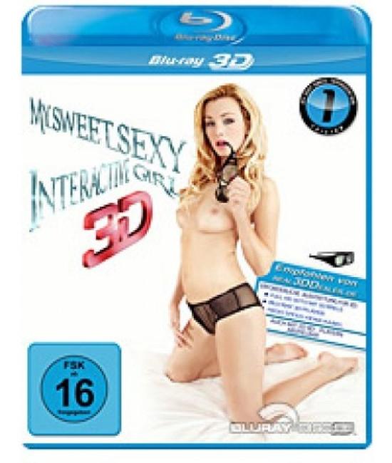 Моя Сладкая Секси Интерактивная Девочка  Часть 1 [3D+2D Blu-Ray]