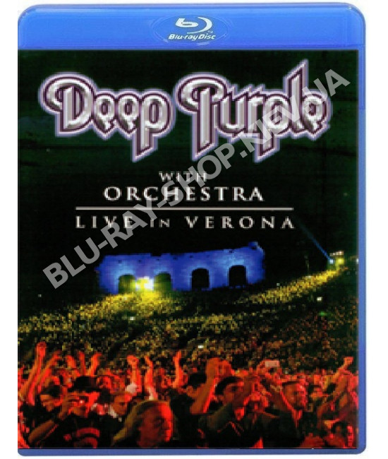 Deep Purple with Orchestra - Live in Verona [Blu-ray]