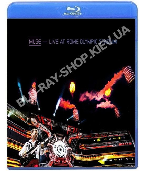 Muse Live at Rome Olympic Stadium [Blu-ray]