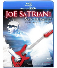 Joe Satriani - Satchurated: Live in Montreal [3D Blu-Ray]
