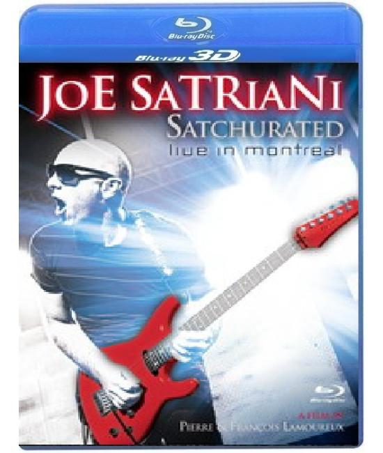 Joe Satriani - Satchurated: Live in Montreal [3D Blu-Ray]