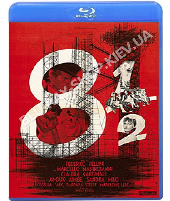 Восемь с половиной (8½) [Blu-ray]