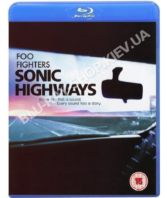 Foo Fighters: Sonic Highways (3-Disc Edition) [Blu-ray]