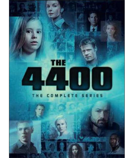 4400 (1-4 сезоны) [4 DVD]