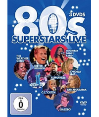 80's Superstars - Live [3DVD]