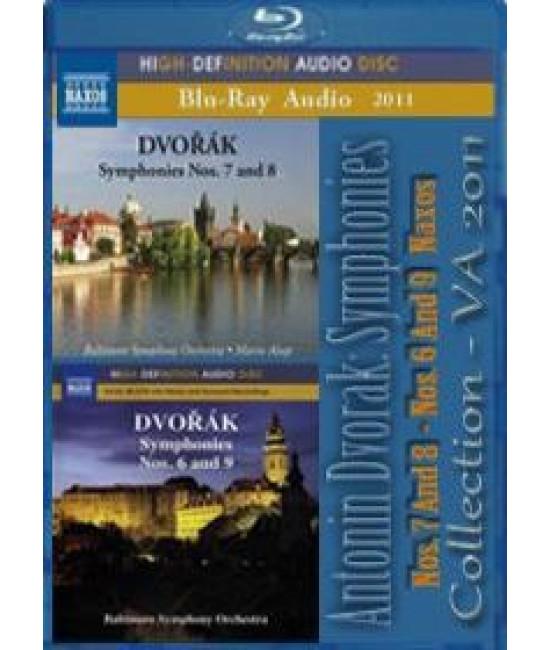 Antonin Dvorak: Symphonies (Nos. 7 And 8) - (Nos. 6 And 9) (Naxo