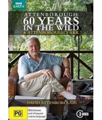 BBC Аттенборо. 60 лет с дикой природой [1 DVD]