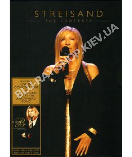 Barbra Streisand - The concerts (2006, 1994) [2 DVD]