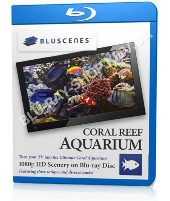 Bluscenes: Аквариум с Коралловым Рифом [Blu-Ray]