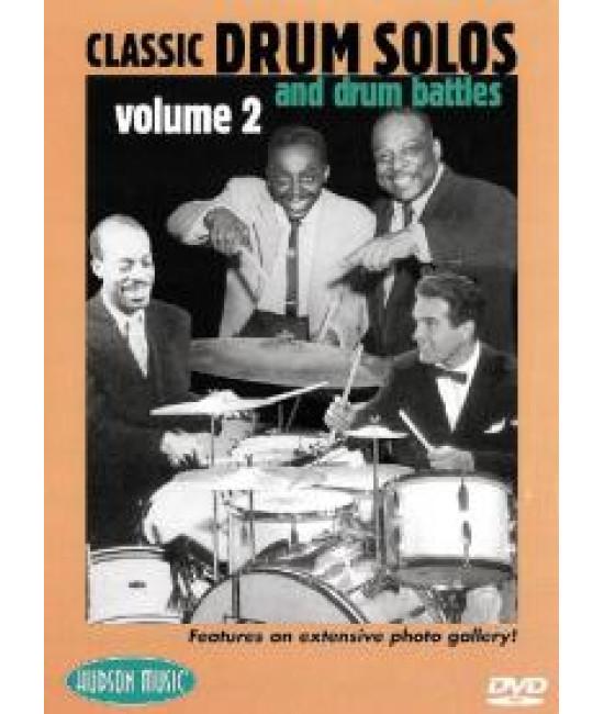 Classic Drum Solos And Drum Battles 1947-1989 Volume 2  [DVD]