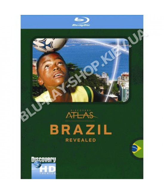 Discovery Atlas: Бразилия [Blu-Ray]