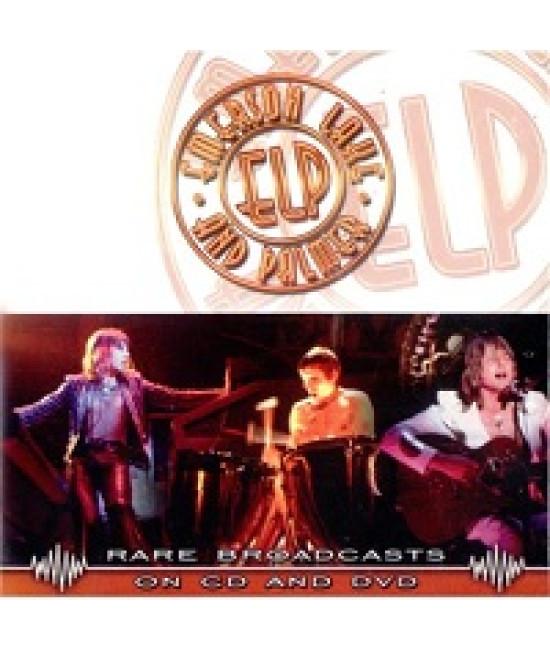 Emerson, Lake & Palmer - Rare Broadcasts 1970 [DVD]