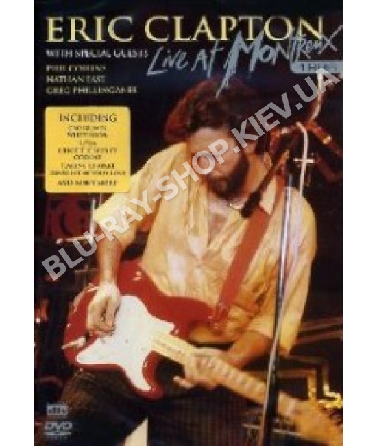 Eric Clapton - Live In Montreux [DVD]
