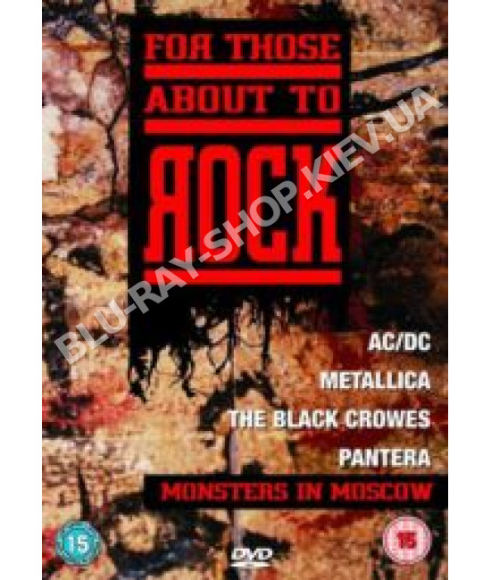 For Those About to Rock - Monsters in Moscow [DVD]