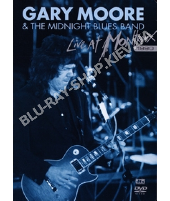 Gary Moore and The Midnight Blues - Live at Montreux 1990 [DVD]