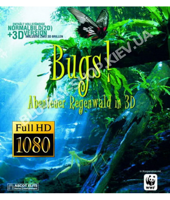 IMAX: Букашки! Приключения в тропическом лесу [Blu-Ray]