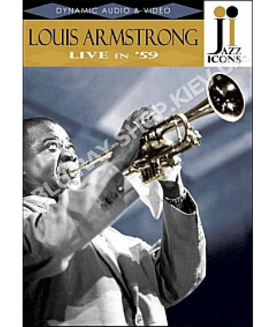 Jazz Icons: Louis Armstrong - Live in  59 [DVD]