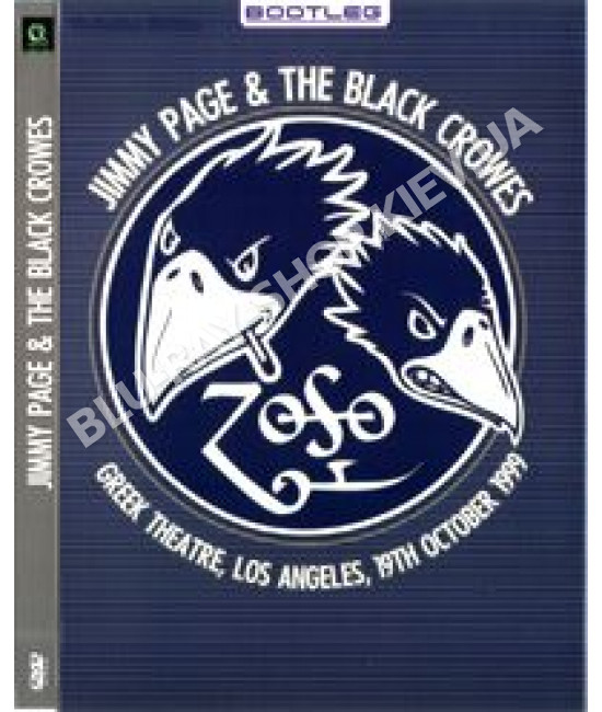 Jimmy Page And The Black Crowes - Live At The Greek Theatre ( Bo