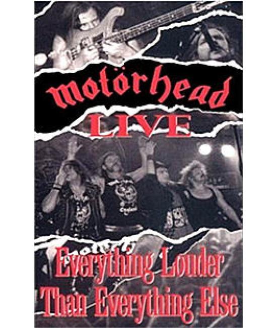 Motorhead - Live: Everything Louder Than Everything Else [DVD]