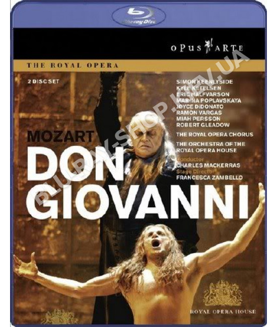 Mozart - Don Giovanni (Francesca Zambello) [2 Blu-ray]