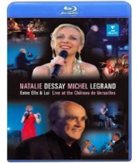Natalie Dessay & Michel Legrand:Entre Elle &Lui Versail[Blu-ray]