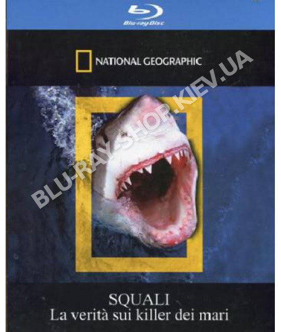 National Geographic: Акулы [Blu-Ray]