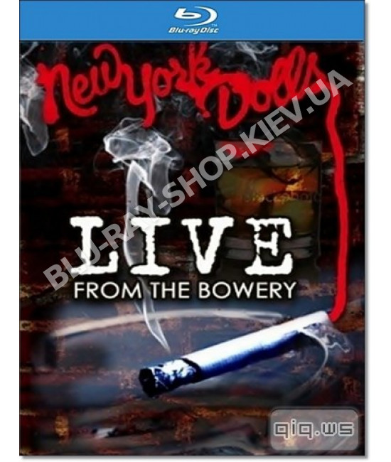 New York Dolls - Live From The Bowery [Blu-Ray]