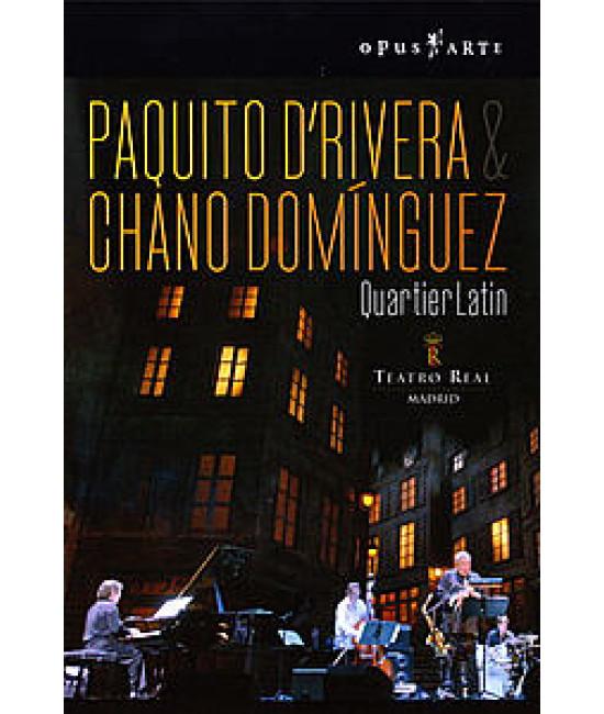 Paquito D Rivera & Chano Dominguez - Quartier Latin: Live [DVD]