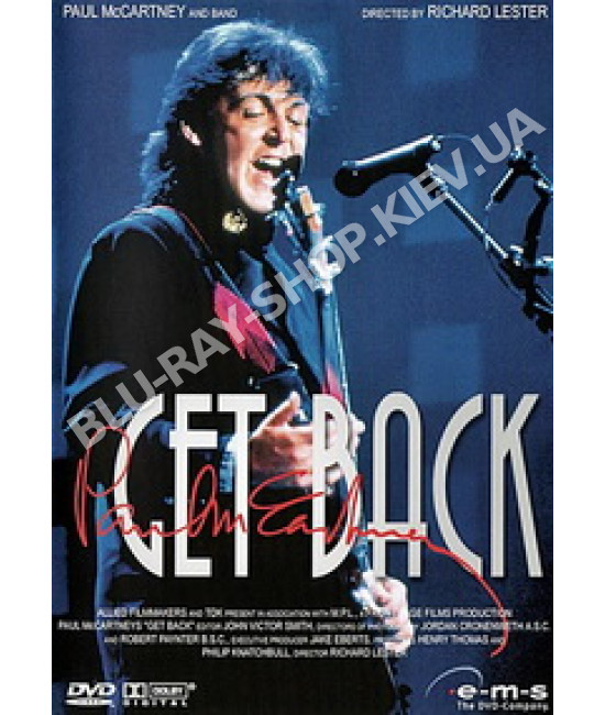 Paul McCartney - Get Back [DVD]