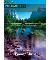 Planet Earth. Lounge Music (Vol. 1-10) [5 DVD]
