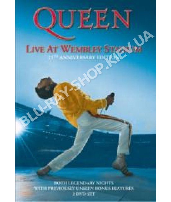 Queen - Live at Wembley Stadium 1986 - 25th Anniversary Edition [2 DVD]