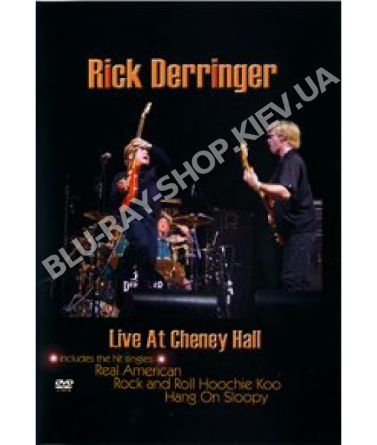 Rick Derringer - Live at Cheney Hall [DVD]