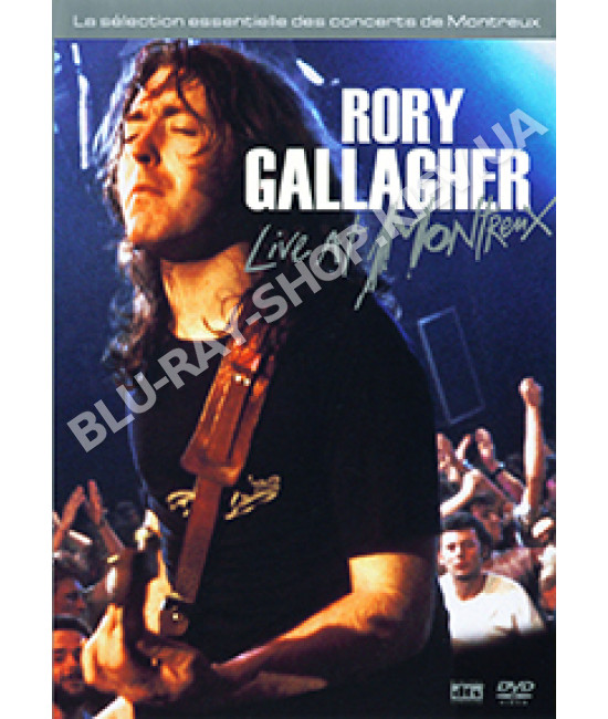 Rory Gallagher - Live At Montreux ( 1975 - 1994 ) [2 DVD]