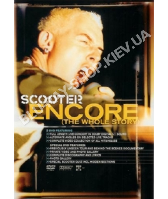 Scooter - Encore (The Whole Story) [2 DVD]