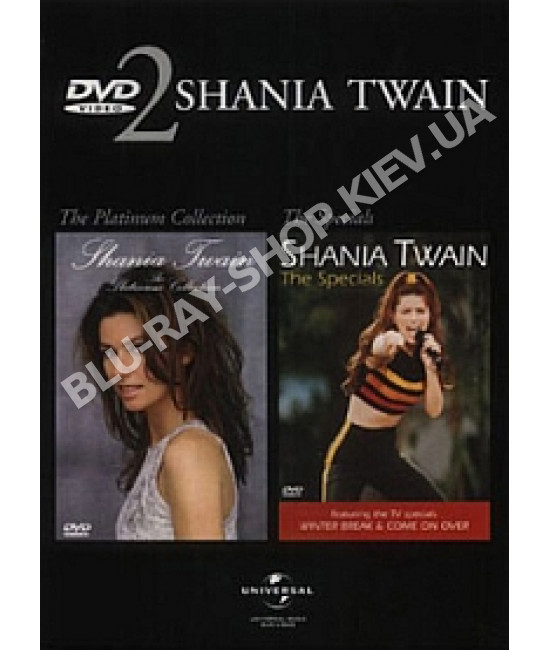 Shania Twain - The Platinum Collection [2 DVD]