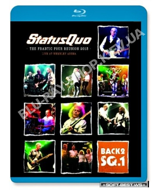 Status Quo - Back2SQ.1 • The Frantic Four Reunion [Blu-ray]