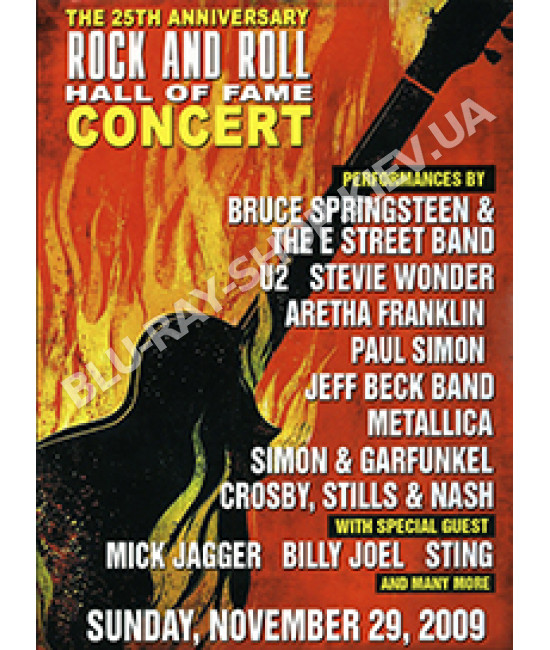 The 25th Anniversary Rock and Roll Hall Of Fame Concert [2 DVD]