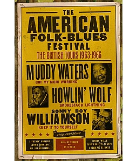 The American Folk Blues Festival - The British Tours (1963-1966)