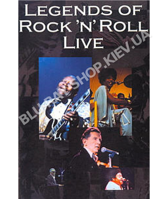 The Legends of Rock-N-Roll Live [DVD]