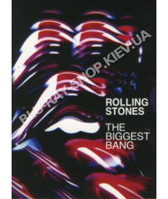The Rolling Stones - The Biggest Band Boxset [4 DVD]