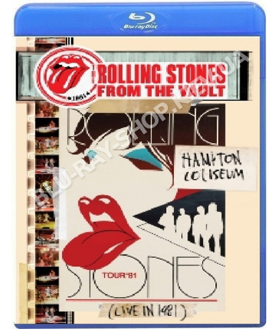 The Rolling Stones:From The Vault-Hampton Coliseum-Live in 1981