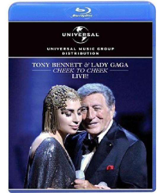 Tony Bennett & Lady Gaga: Cheek to Cheek Live! [Blu-ray]