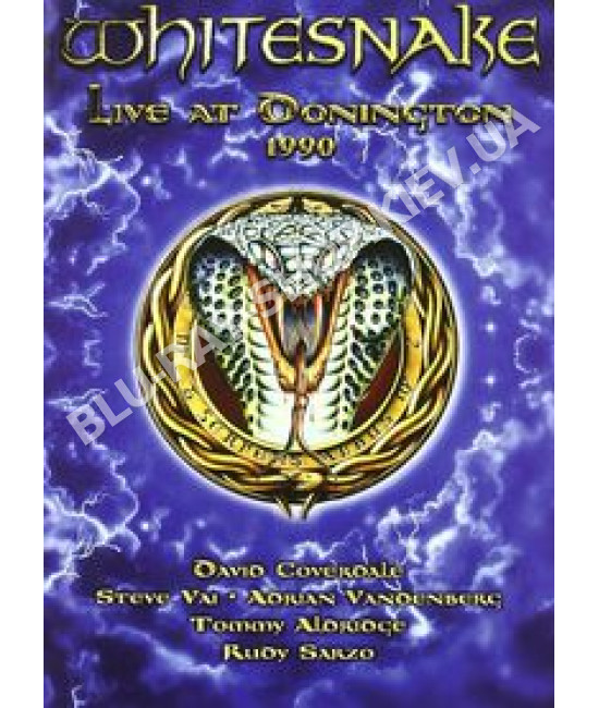 Whitesnake - Live At Donington 1990 [DVD]