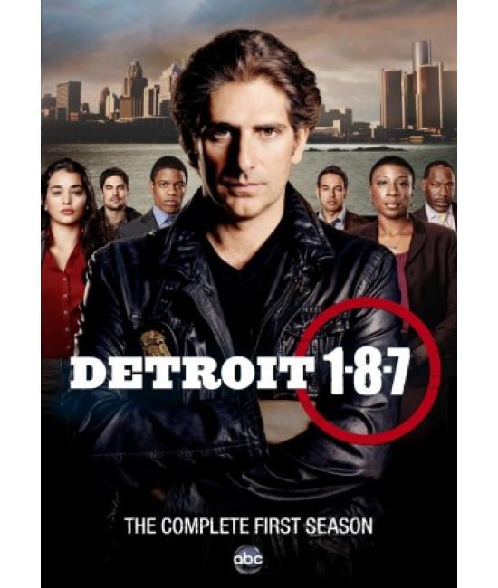 Детройт 1-8-7 (1 сезон) [1 DVD]