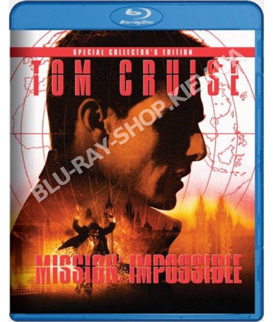 Миссия невыполнима [Blu-ray]