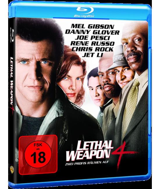 Смертельное оружие 4 [Blu-ray]