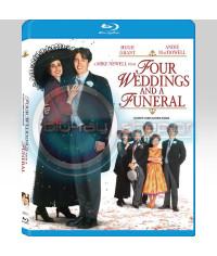 Четыре свадьбы и одни похороны [Blu-ray]