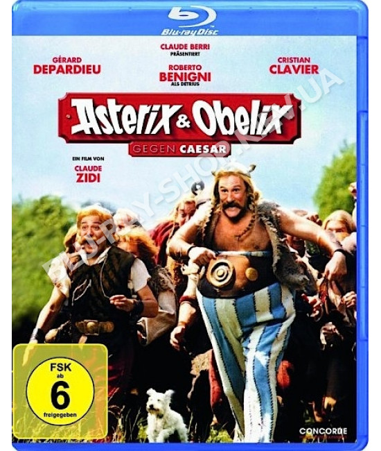 Астерикс и Обеликс против Цезаря [Blu-Ray]